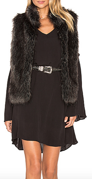 BB Dakota Colton Faux Fur Vest - Estilo Boutique