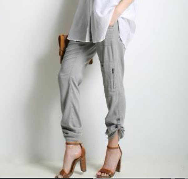 Go by GoSilk Army Pants - Estilo Boutique