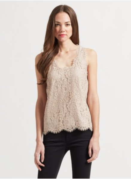 Joie Cina Lace Top - Estilo Boutique