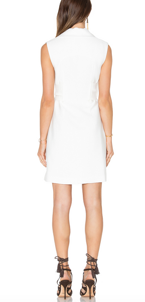 Acler Westall Dress - Ivory - Estilo Boutique