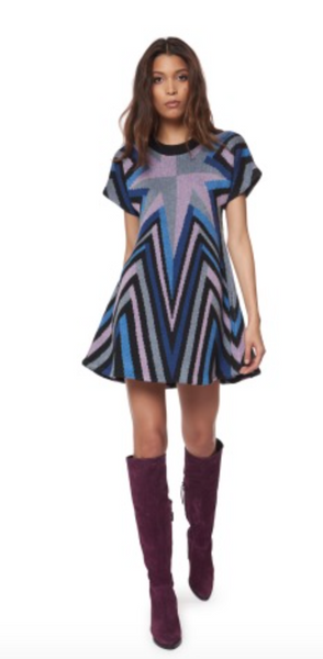 Mara Hoffman Compass Knit Swing Dress - Estilo Boutique