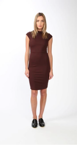 Blaque Label High Neck Cap Sleeve Dress - Estilo Boutique