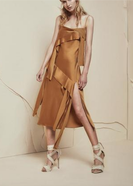 Acler Knox Dress in Amber - Estilo Boutique