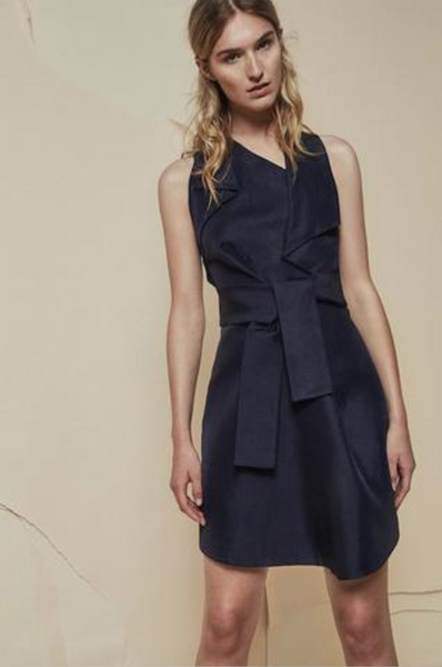 Acler Mercer Dress in Midnight - Estilo Boutique