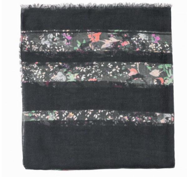 Zadig & Voltaire Kerry Mix Flower Scarf - Estilo Boutique