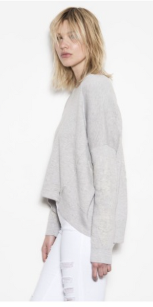 One Grey Day Blake Sweater - Grey - Estilo Boutique