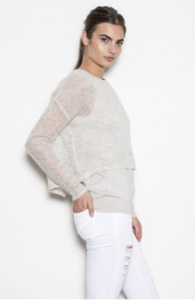 One Grey Day Cassie Sweater - Grey - Estilo Boutique