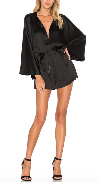 Acler Knox Romper in Black - Estilo Boutique