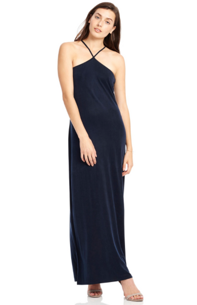 "Ecru "" Halter Maxi"" Dress"