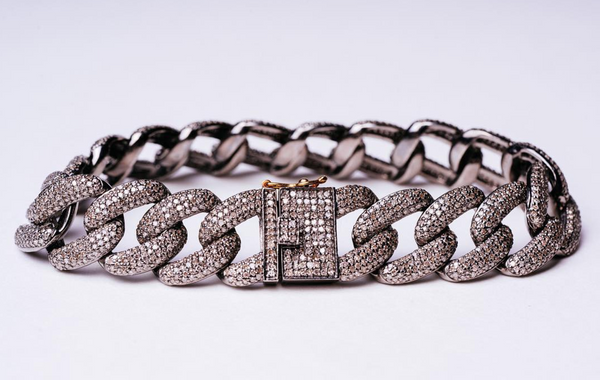 Mizana Collections Braided Link Bracelet