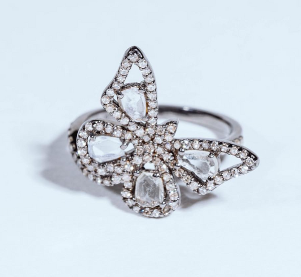 Mizana Collections Butterfly Ring
