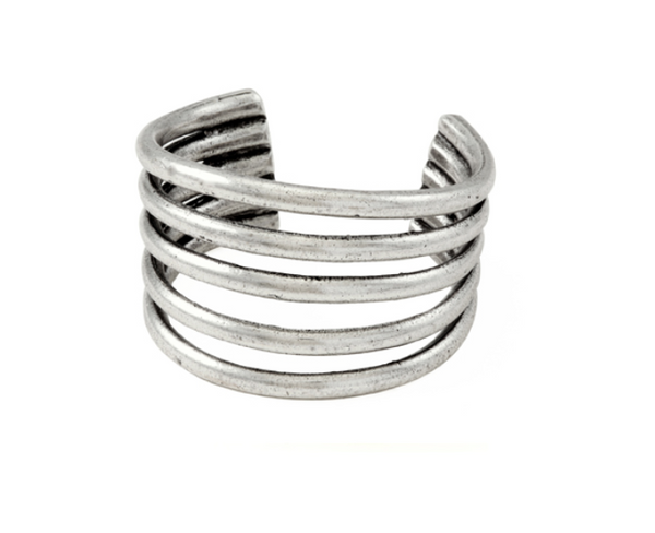 Avantgarde Pardes Cuff - Silver Plated
