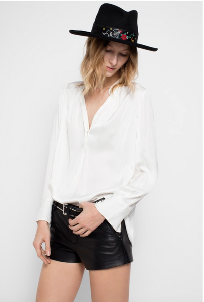 Zadig & Voltaire Tink Deluxe Blouse - Off White
