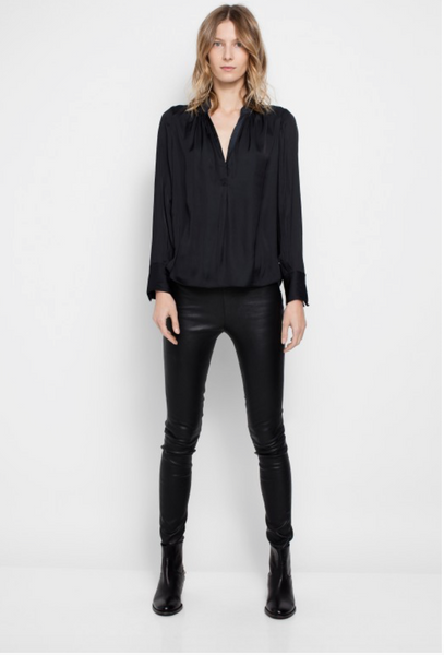Zadig & Voltaire Tink Deluxe Blouse - Black