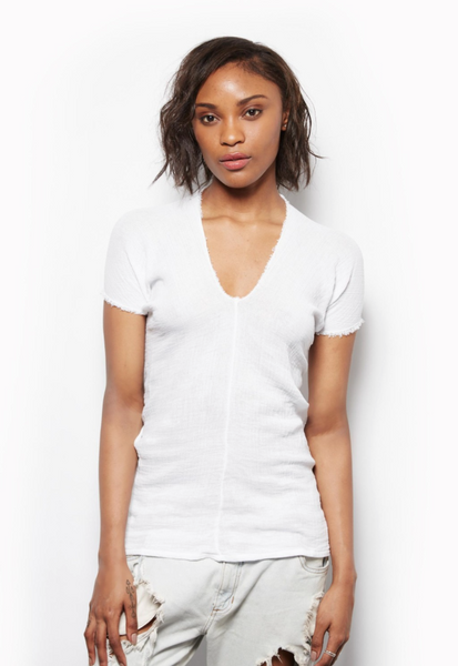 Sam Church Eve Top - White