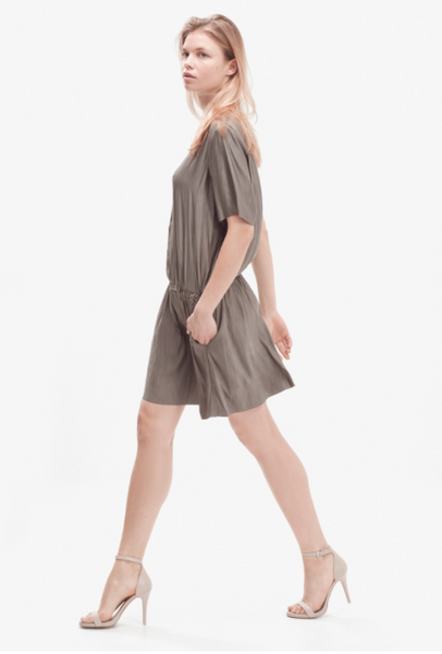 Storm & Marie Donna Dress in Dark Grey