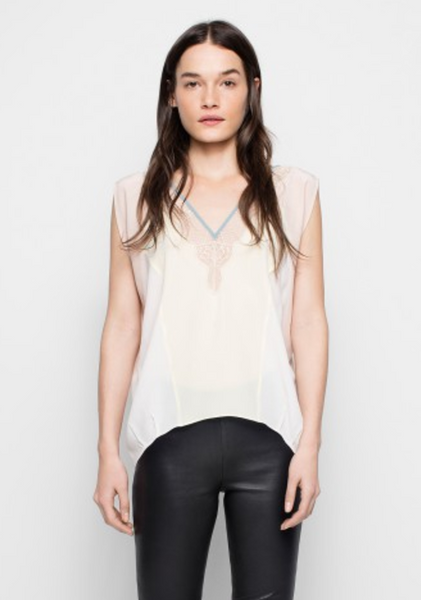 Zadig & Voltaire Trixy Patch Top
