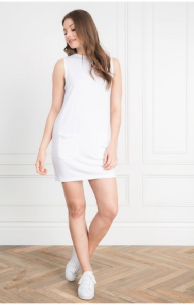 Feel the Piece Margo Dress in White