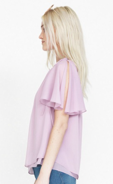Amanda Uprichard Akira Top in Lilac