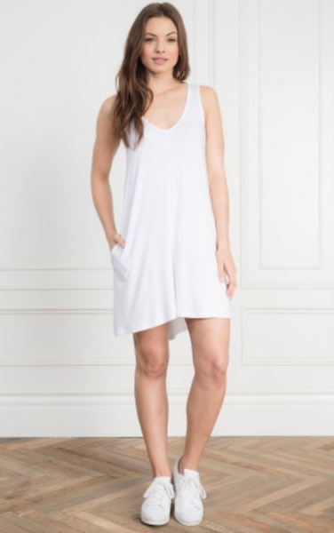 Feel The Piece Freebird Dress in White
