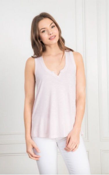 Feel The Piece Milano Tank in Peony Pink