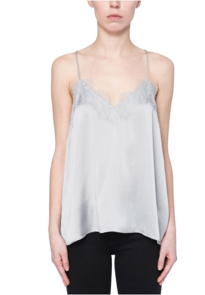 Cami NYC The Racer Charmeuse In Silver