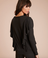 Nation LTD Senna Cascade Ruffle Top