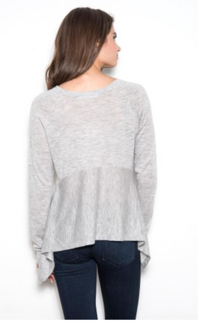 One Grey Day Dana Pullover
