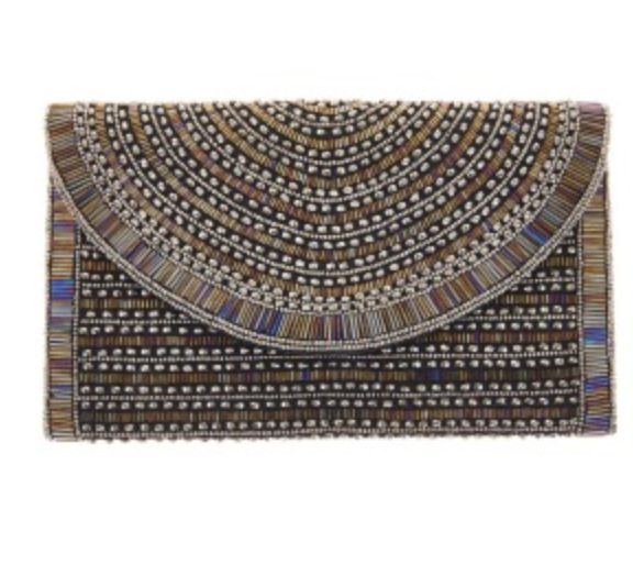 St. Xavier Bailey Clutch in Black