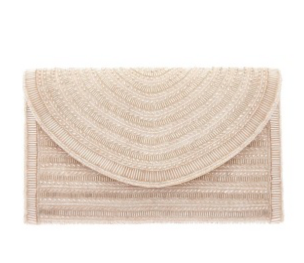 St. Xavier Bailey Clutch in Champagne