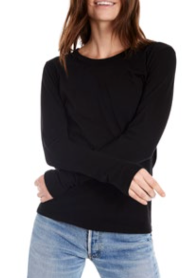 Estilo Austin Long Sleeve Crew Neck Top
