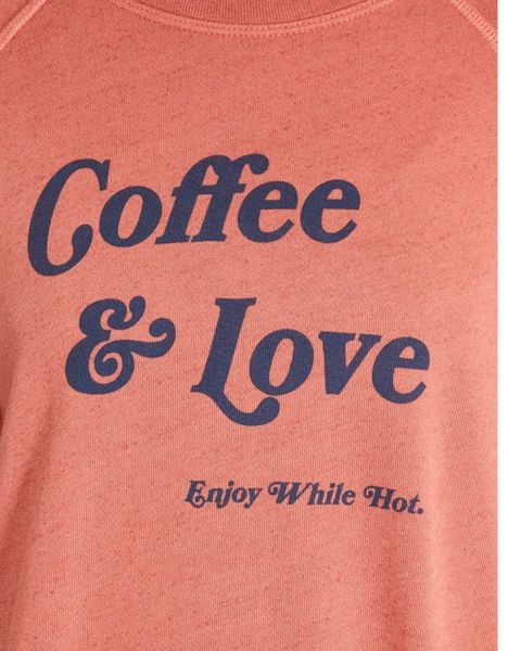 "Good Hyouman ""Coffee and Love "" The Smith Sweatshirt"