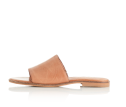 Alias Mae Therapy Slide in Light Tan Leather