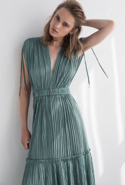 Sabina Musáyev Tyler Dress in Green