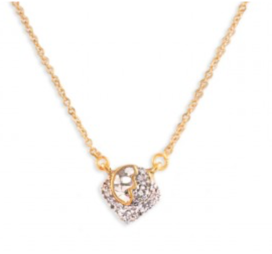 Shana Gulati Grace Pendant in Yellow Gold