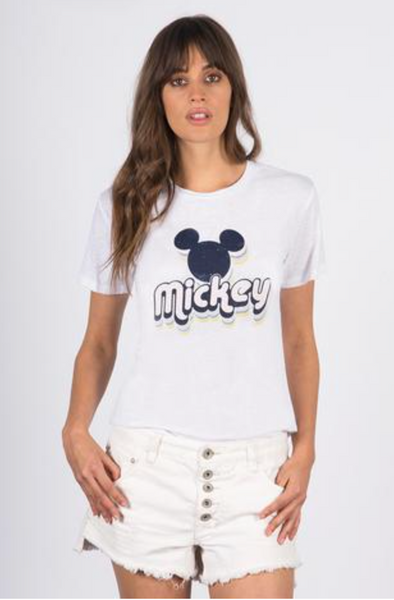 David Lerner 70's Mickey Crew T Shirt