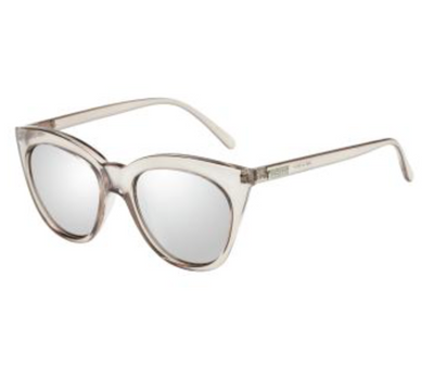 Le Specs Half Moon Magic Sunglasses in Smoke