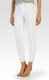 Paige Verdugo Crop in Ultra White