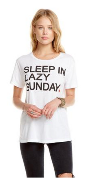 Chaser Sleep in Sunday T Shirt