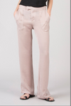 David Lerner Wide Leg Pant in Nude