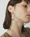 Jenny Bird Small Lola Hoops in Gold/Silver