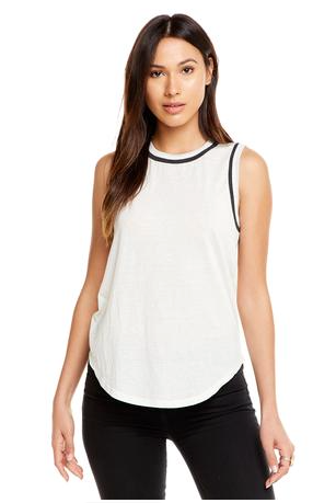 Chaser Muscle Tank with Contrast Binding