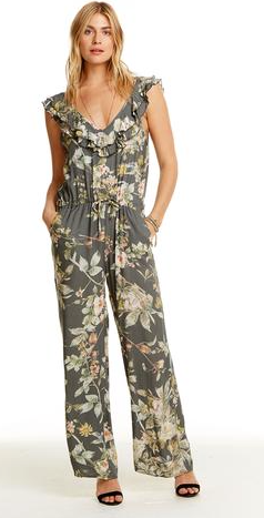 Chaser Double Ruffle Jumpsuit
