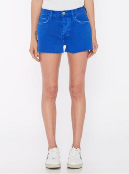 Current Elliott The Boyfriend Short in Nautical Blue