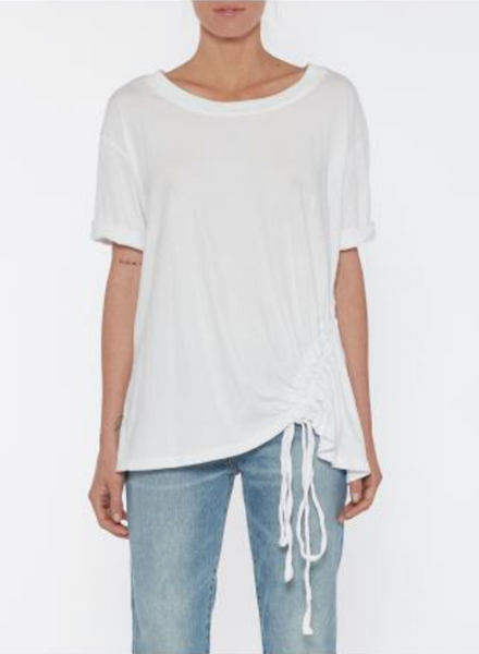 Current Elliott The Knit Casson Top in White