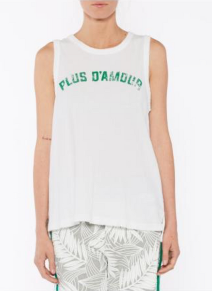"Current Elliott The Easy Muscle Tank ""Plus D Amour"""