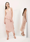 Krisa Asymmetrical Maxi Dress