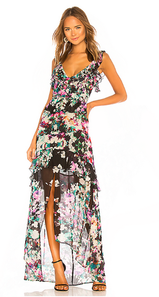 Karina Grimaldi Andrea Maxi Dress