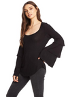 Chaser Thermal Scoop Neck Top