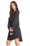 Chaser Puff Sleeve Hi Lo Dress